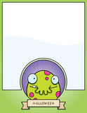 Cartoon Monster Halloween Graphic Royalty Free Stock Photography