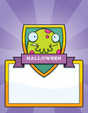 Cartoon Monster Halloween Graphic Royalty Free Stock Images