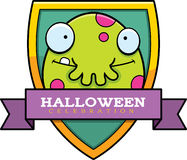 Cartoon Monster Halloween Graphic Stock Photo