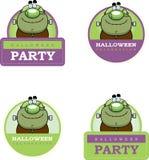 Cartoon Monster Halloween Graphic Stock Image