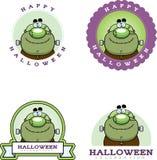 Cartoon Monster Halloween Graphic Stock Photography