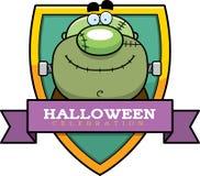 Cartoon Monster Halloween Graphic Royalty Free Stock Image