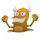 Cartoon Monster Royalty Free Stock Image