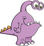 Cartoon monster. Royalty Free Stock Image