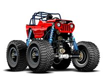 Free Cartoon Monster Truck Stock Images - 40048224