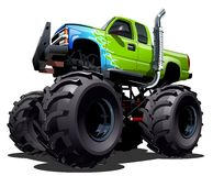 Free Cartoon Monster Truck Royalty Free Stock Images - 41837599