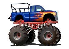 Cartoon Monster Truck Stock Image