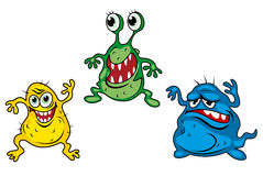 Cartoon monsters Stock Image