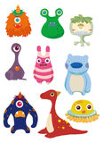 Cartoon Monsters icon Stock Photo