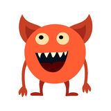 Cartoon monsters set. Colorful toy cute monster. Vector EPS 10 Stock Photos