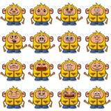 Cartoon Monsters Set Stock Image