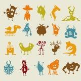 Cartoon monsters Royalty Free Stock Photo
