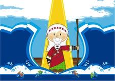 Cartoon Moses Character Royalty Free Stock Photo