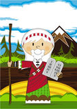 Cartoon Moses Character Stock Images