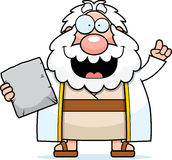 Cartoon Moses Idea Stock Photography