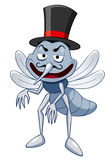 Cartoon Mosquito Stock Photography