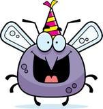 Cartoon Mosquito Birthday Party Royalty Free Stock Photography