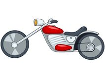 Cartoon Motorcycle Stock Images