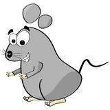 Cartoon mouse Stock Image