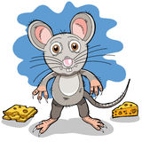 A cartoon mouse Royalty Free Stock Photography