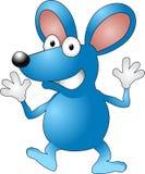 Cartoon mouse. A vector illustration of a cartoon mouse waving Stock Photo