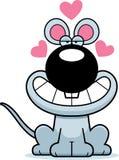 Cartoon Mouse Love Royalty Free Stock Photos