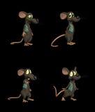 Cartoon Mouse - pack 2b Stock Photos