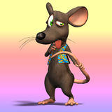 Cartoon Mouse or Rat #10 Stock Photos