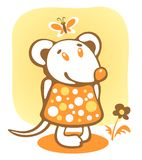 Cartoon mousy Stock Photos
