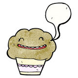 Cartoon muffin Royalty Free Stock Photography