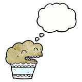 Cartoon muffin Royalty Free Stock Photo