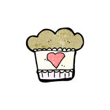 Cartoon muffin Royalty Free Stock Photo