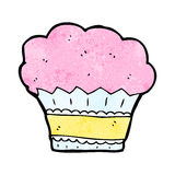 Cartoon muffin Royalty Free Stock Image
