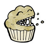 Cartoon muffin Royalty Free Stock Images