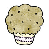 Cartoon muffin Stock Image