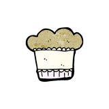 Cartoon muffin Royalty Free Stock Photos