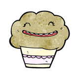 Cartoon muffin Stock Photos
