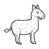 cartoon mule Stock Image