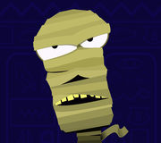 Cartoon Mummy Royalty Free Stock Photography