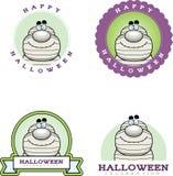 Cartoon Mummy Halloween Graphic Stock Image