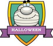 Cartoon Mummy Halloween Graphic Royalty Free Stock Image