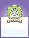 Cartoon Mummy Halloween Graphic Royalty Free Stock Photo