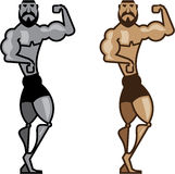 Cartoon Muscleman Royalty Free Stock Images