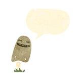 Cartoon mushroom Stock Photo