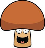 Cartoon Mushroom Happy Royalty Free Stock Photography