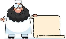 Cartoon Muslim Sign Stock Photos