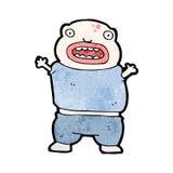 Cartoon mutant boy Stock Photo