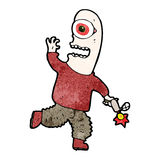 Cartoon mutant man Royalty Free Stock Photo