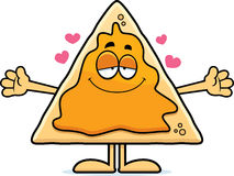 Cartoon Nachos Hug Stock Images