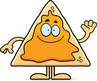 Cartoon Nachos Waving Royalty Free Stock Image